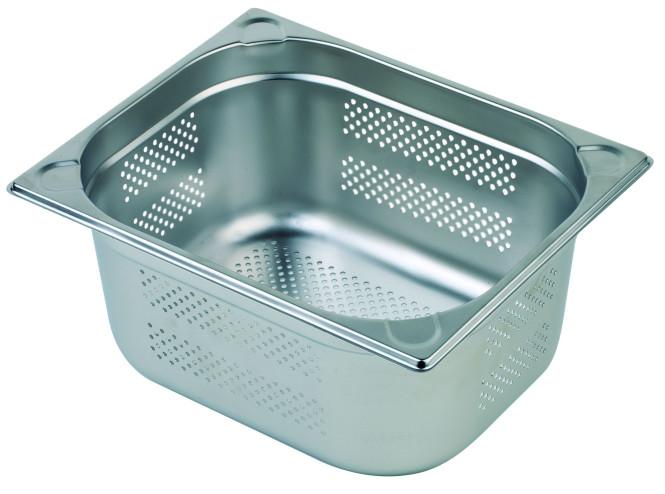 APS GN-Behälter 1/2(perforiert) 150mm tief,9,5 Liter,325x265mm Edelstahl