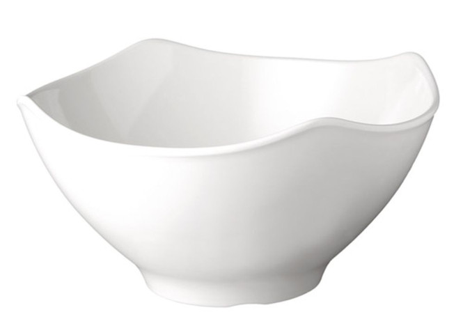 APS Schale -GLOBAL BUFFET-, Melamin, weiß, 3 Liter, Ø 25,5 cm, H: 13 cm