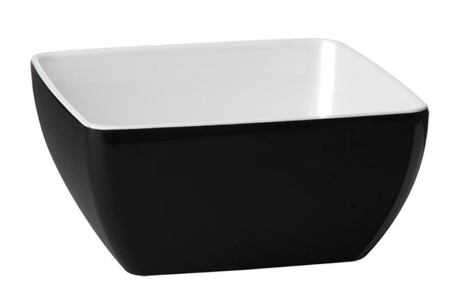 APS Schale -PURE BICOLOR-, Melamin, 0,4 Liter, 12,5 x 12,5 cm, H: 6,5 cm