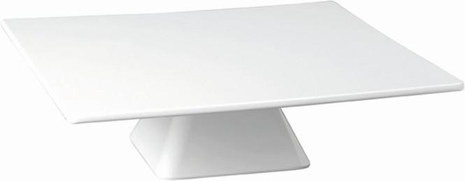 APS Servierplatte -CASUAL- ca. 31 x 31 cm, Höhe 8 cm Melamin, weiß 1A Qualität, original Melamin spülmaschinenfest nicht mikrowellengeeignet
