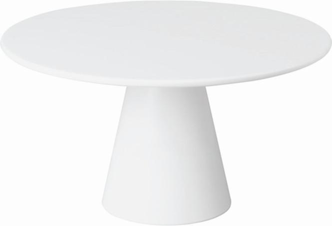 APS Servierplatte -CASUAL- ca. Durchmesser 31 cm, Höhe 16 cm Melamin, weiß 1A Qualität, original Melamin spülmaschinenfest nicht mikrowellengeeignet