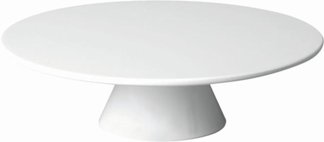 APS Servierplatte -CASUAL- ca. Durchmesser 31 cm, Höhe 8 cm Melamin, weiß 1A Qualität, original Melamin spülmaschinenfest nicht mikrowellengeeignet