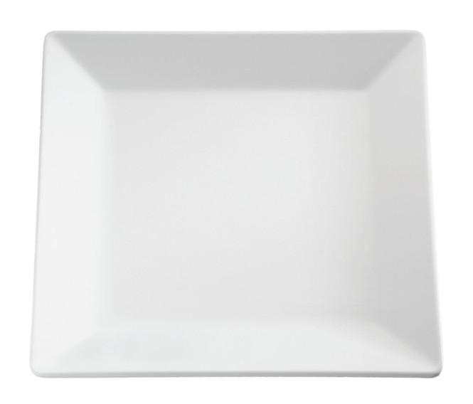 APS Tablett -PURE- ca. 26,5 x 26,5 cm, Höhe 3 cm Melamin, weiß 1A Qualität, original Melamin spülmaschinenfest nicht mikrowellengeeignet