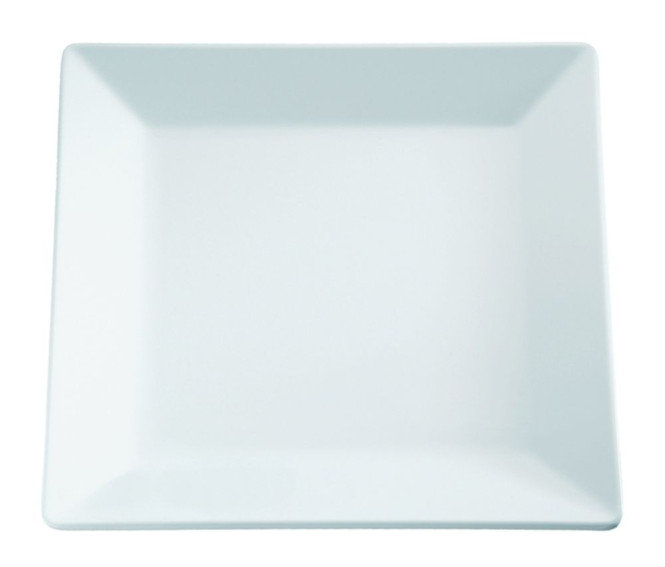 APS Tablett -PURE- ca. 37 x 37 cm, Höhe 3 cm Melamin, weiß 1A Qualität, original Melamin spülmaschinenfest nicht mikrowellengeeignet