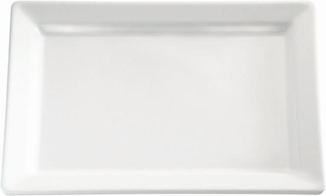 APS Tablett / Sushiplatte -PURE- ca. 53 x 18 cm, Höhe 3 cm Melamin, weiß 1A Qualität, original Melamin spülmaschinenfest nicht mikrowellengeeignet
