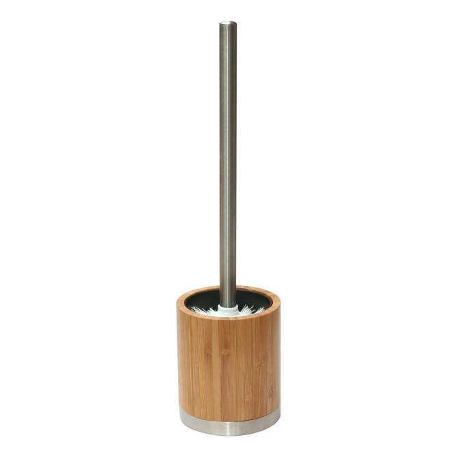 AXENTIA Badserie Bonja WC-Garnitur Bambus