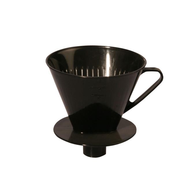 AXENTIA Kaffeefilter mit Stutzen für 4 Tassen, Kaffeebereiter, Kaffeedauerfilter, Stutzenfilter speziell für Isolierkannen - Made in Germany