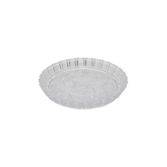AXENTIA Kuchenteller rund 15 cm Plastkristall