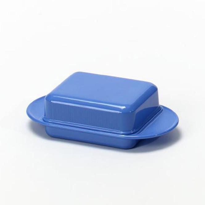 AXENTIA Tisch-Butterdose Kunststoff farbig sortiert