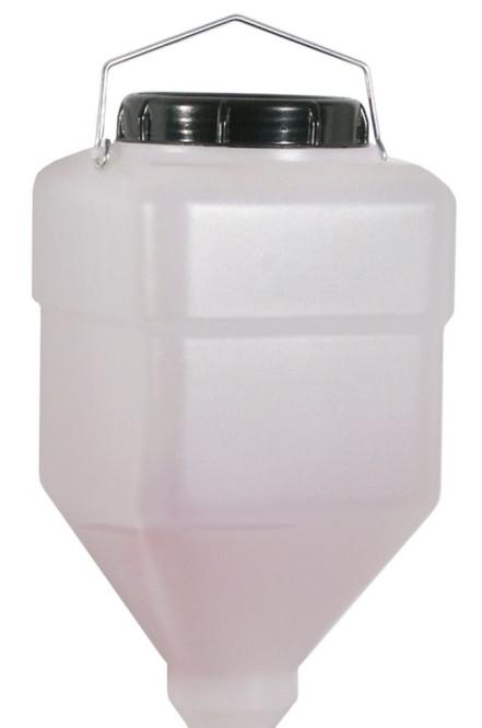 Contacto Nachfüllbehälter GROSS 5500 ml für Saucenkuh® Dispensersystem, Melkdispenser Behälter aus Kunststoff Nachfüllbehälter GROSS