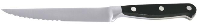 Contacto Edelstahl Steakmesser 4,5 Zoll mit Melamin Griff