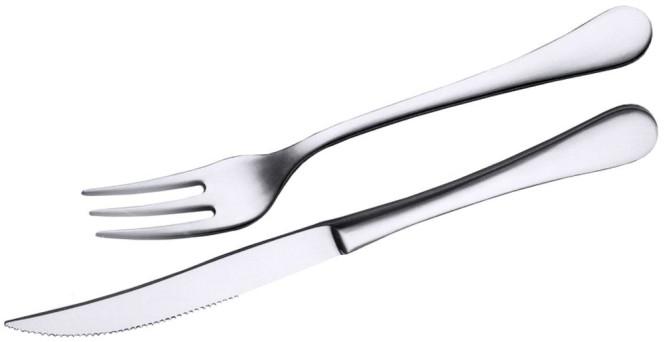 Contacto Edelstahl Steakmesser der Serie Luna