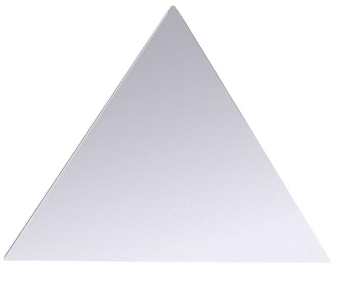 Contacto Edelstahl Systembankettplatte Dreieck