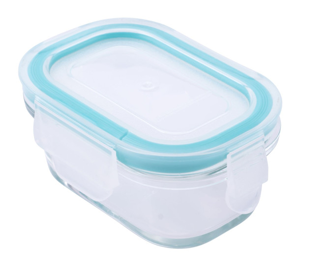 culinario 3er Set Cloc Frischhaltedosen, Borosilikatglas, je 150 ml, bis 400°C