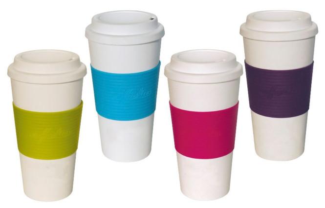 culinario Coffee to go Kaffeebecher, 470 ml, Farbe wählbar
