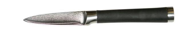culinario Damastmesser, Damaszener Schälmesser, 20 cm, Klingenlänge 9,0 cm