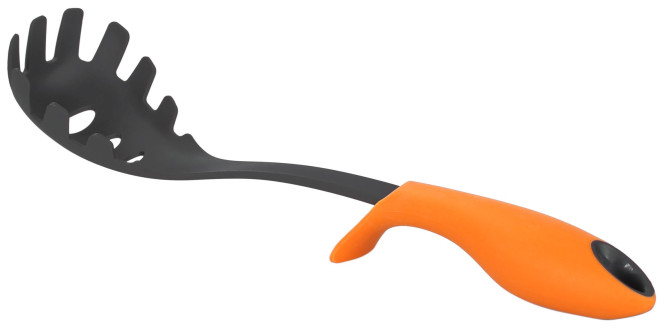 culinario Design Pastakralle, Nudelzange mit Stehfunktion - orange
