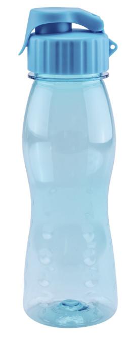 culinario Freizeit Trinkflasche flip'S, 500 ml, blau blau   Anzahl: 1 Stück