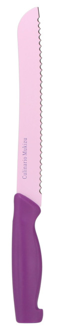 culinario Mukizu Brotmesser, lila