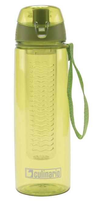 culinario Trinkflasche Flavour mit Filtereinsatz, 700 ml, grün grün   Anzahl: 1 Stück