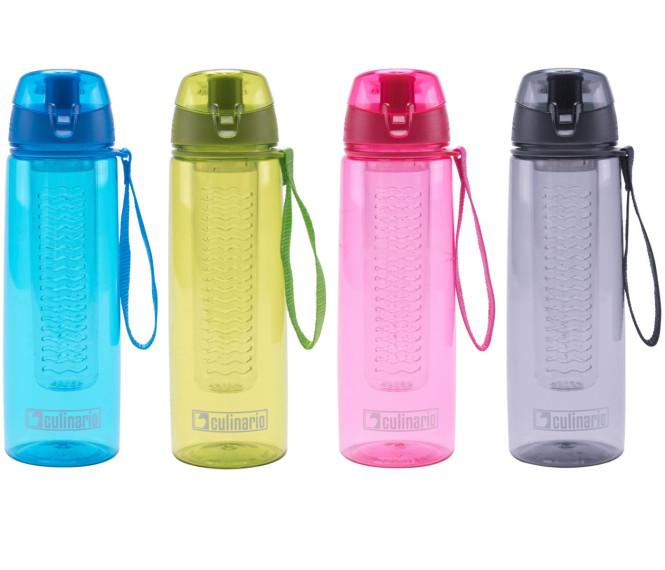 culinario Trinkflasche Flavour mit Filtereinsatz, Tritan®, 700 ml, Farbe wählbar