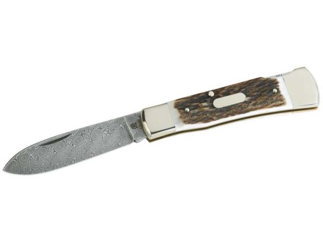 Damast-Taschenmesser | Friedrich Hartkopf