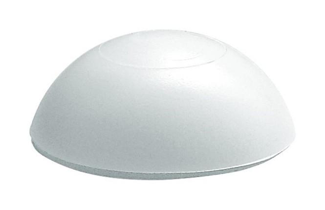 Danto® Türpuffer HALBKUGEL weiß, Ø 32 mm Höhe: 13 mm, aus Kunststoff weiß   Anzahl: 1 Stück