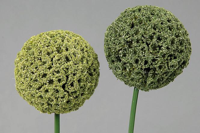 Dekokugel Allium 2-fach sortiert, Länge 70 cm, 1 Stück