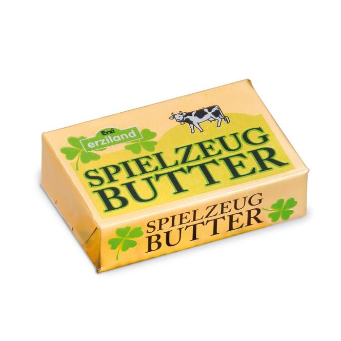 Erzi Butter, Spielzeug-Butter, Holz-Butter, Kaufladenzubehör