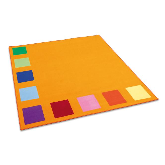 Erzi Teppich Squarolino, Spielteppich, Spielmatte