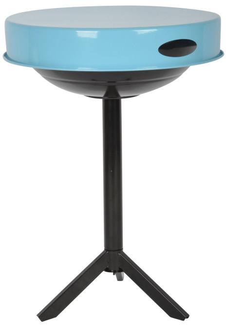 Esschert Design 3 in 1 Grill, Ø 47 cm, H 63 cm, schwarz/blau