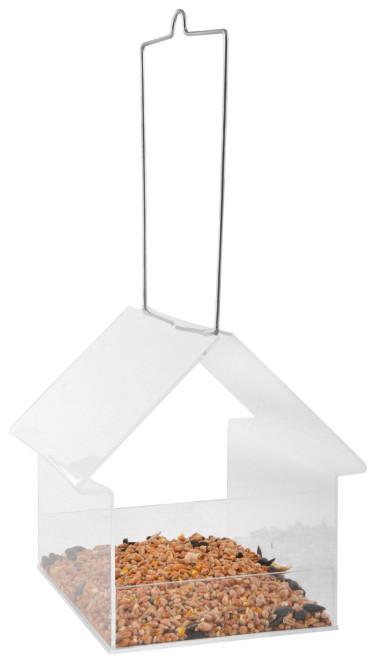 Esschert Design Acryl Hängefutter aus aus PMMA und Metall,14,5 x 15,1 x 15,3 cm
