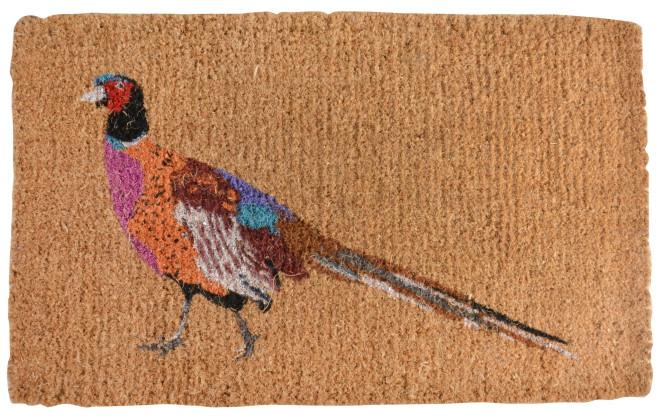 Esschert Design Kokosmatte Fasan, 75 x 45 x 2,8 cm