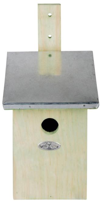 Esschert Design Nistkasten, Vogelhaus Staren aus Holz, ca. 19 cm x 23 cm x 39 cm Anzahl: 1 Stück