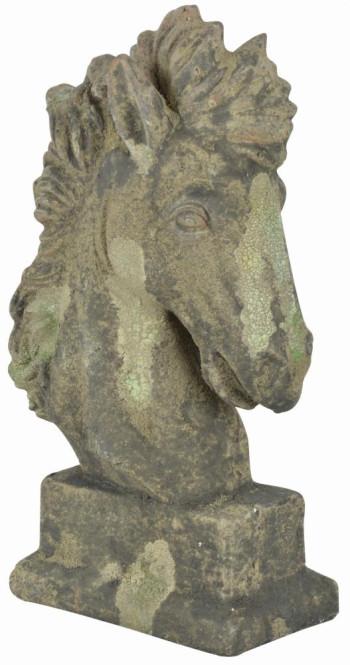 "Esschert Design ""Pferdekopf"" Moos, aus dem Material ""Terracotta"", 23,7 x 12,2 x 40,5 cm"
