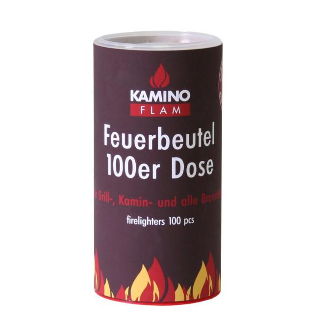 Feuerbeutel 100 Stück in Dose