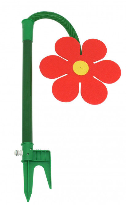 FloraSun Funflower Gartenblume aus Kunststoff, in rot