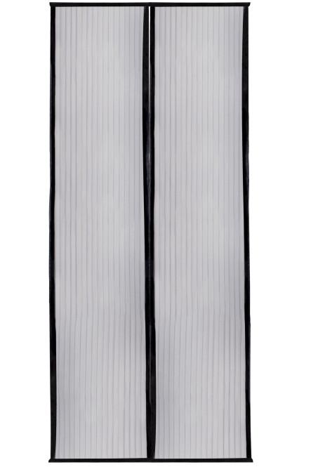 FloraSun MAGNET - Fliegengitter und Insektenschutztür, mit Magneten, schwarz
