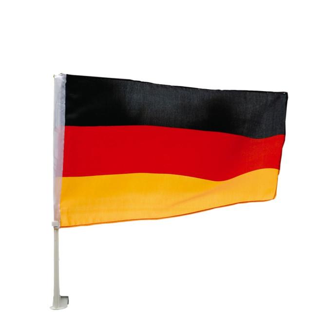 Happy People Deutschland Auto-Fahne, 45 x 30 cm