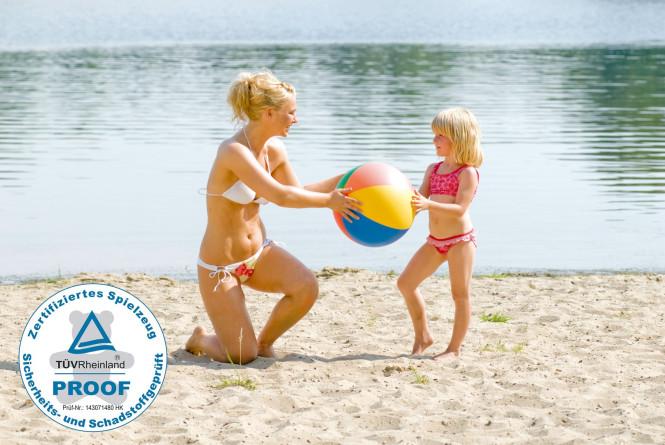 Happy People Wasserball, Reflex-Farben, Ø ca. 50 cm
