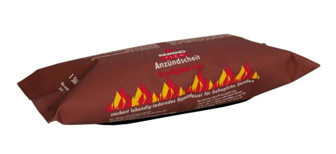 KaminoFlam® - Dauerbrenner Kaminfeuer Andzündscheit, Anzahl wählbar
