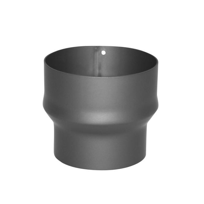 KaminoFlam® Erweiterung für Ofenrohre 120 auf 150, gussgrau