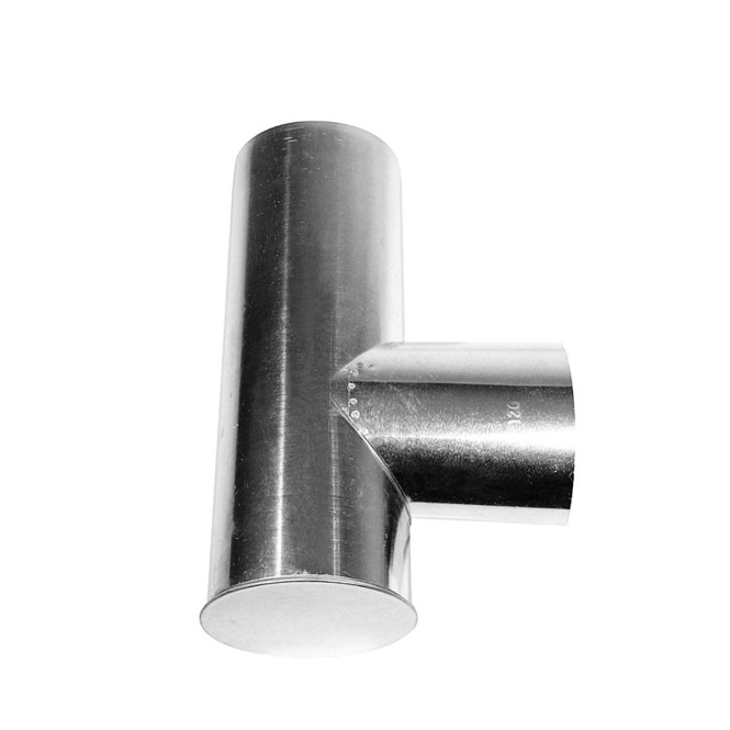 KaminoFlam® FAL (feueraluminiert) Kapselknie für Ofenrohre 130/130 mm