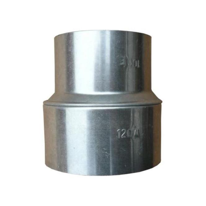 KaminoFlam® FAL (feueraluminiert) RohrErweiterung für Ofenrohre 110/120 mm