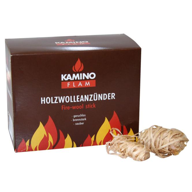 KaminoFlam® - Holzwollanzuender 32 Stueck