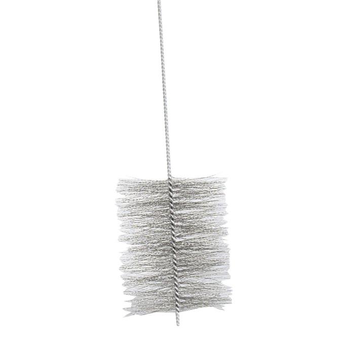 KaminoFlam® - Kamin-Ofenrohrbürste, Kaminbürste, Heizkesselbürste, Ofenreiniger, 160 mm Durchmesser