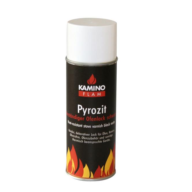 KaminoFlam® - Ofenlack-Spray schwarz matt 300 ml