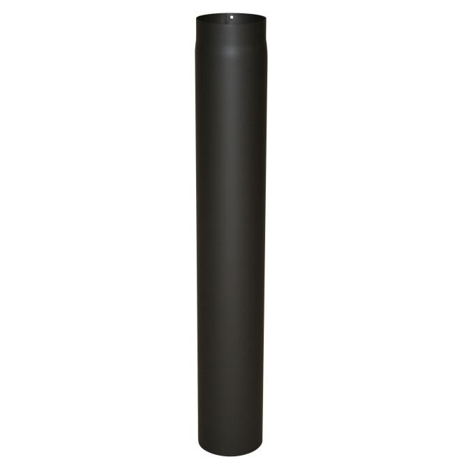 KaminoFlam® Ofenrohr Senotherm schwarz 2 mm 130 x 1000 mm