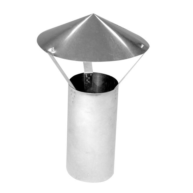 KaminoFlam® Regenhaube FAL (feueraluminiert) 120 mm