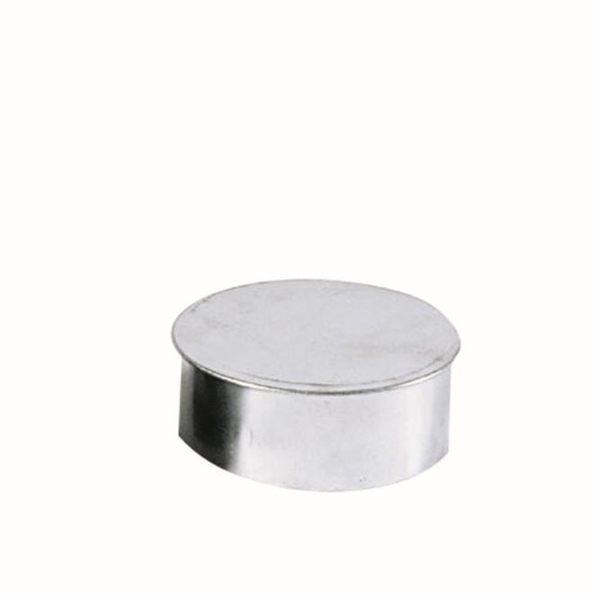 KaminoFlam® Rohrkapsel für Ofenrohre FAL (feueraluminiert) 120 mm